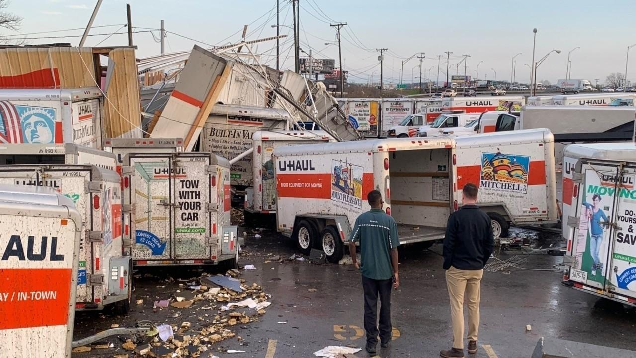 U-Haul of Nashville President Jeff Porter discusses the devastating tornado that hit Tennessee and what he is doing to help those affected by the storm.