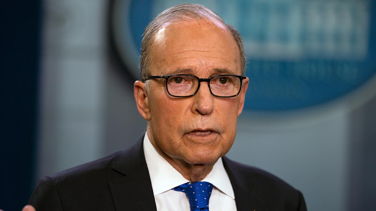National Economic Council Director Larry Kudlow discusses the payroll tax cut and the economic stimulus package amid the coronavirus outbreak.