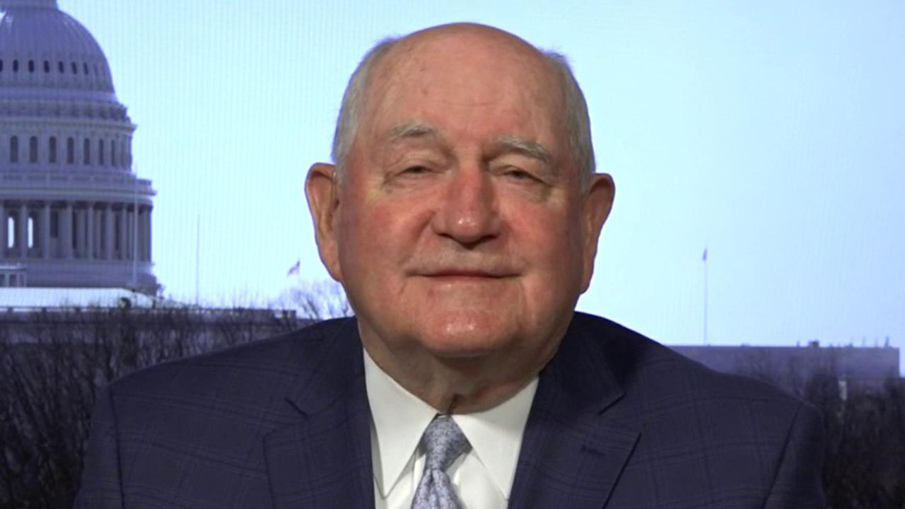 Agriculture Secretary Sonny Perdue argues the U.S. has demonstrated that it has the best food supply chain in the world.