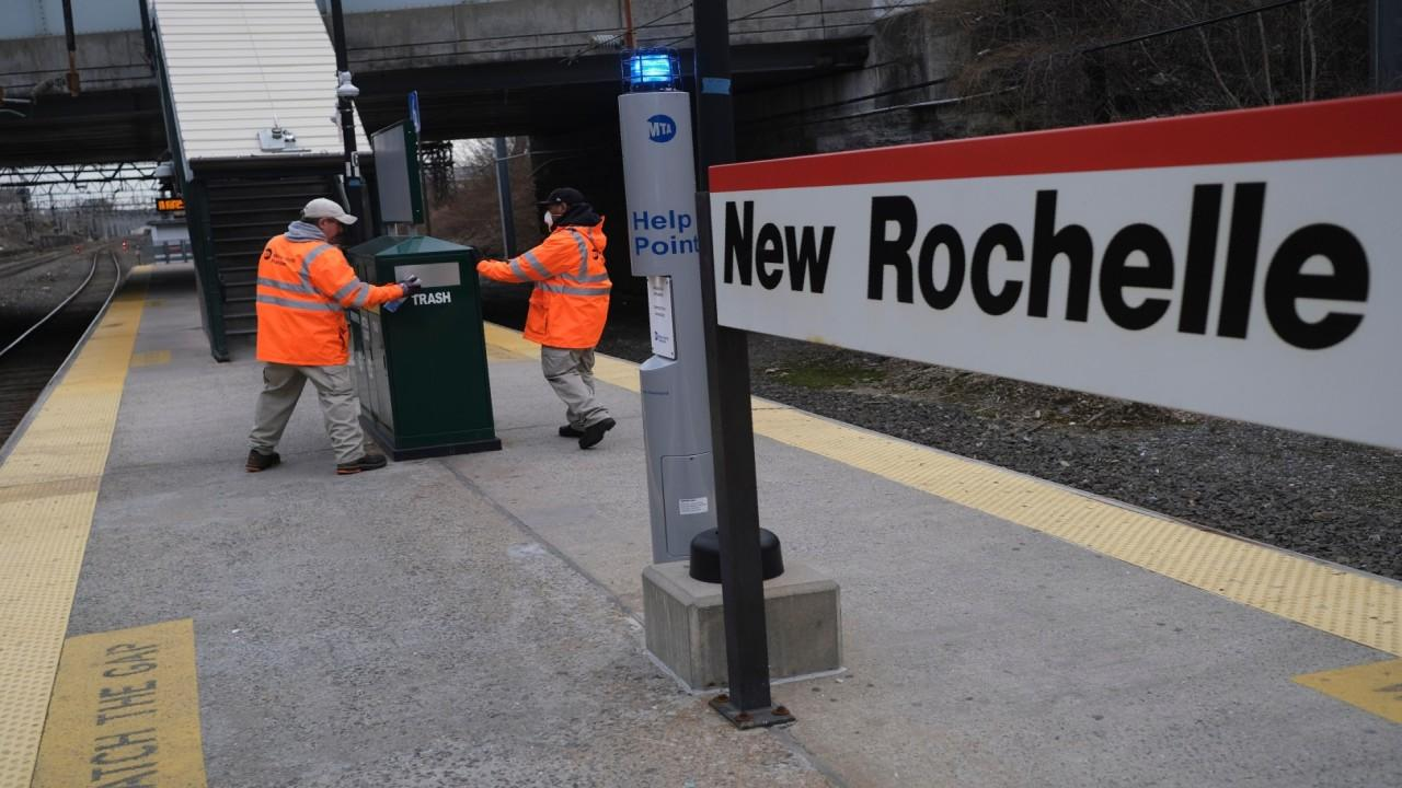 New Rochelle resident Tamar Weinberg discusses life inside the coronavirus containment zone in the New York suburb.