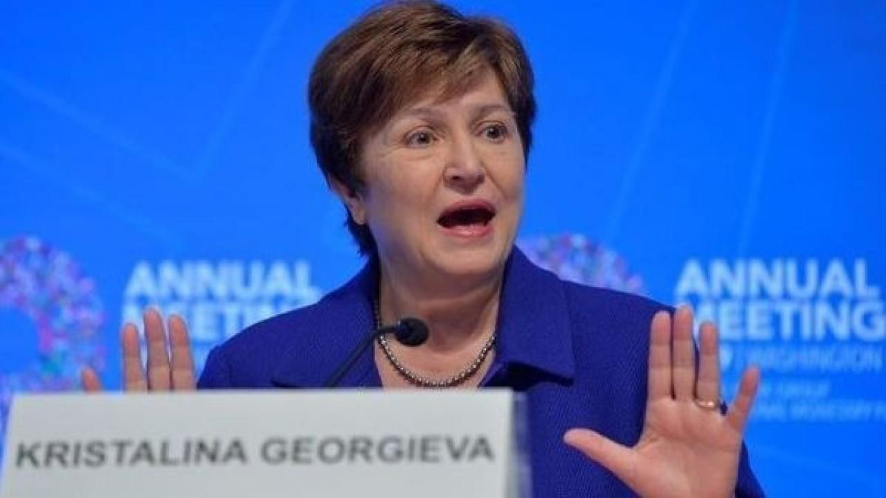 IMF Managing Director Kristalina Georgieva discusses the IMF's aid package intended to help countries fight coronavirus and its prediction for a global economic slowdown as well as China's economic growth.