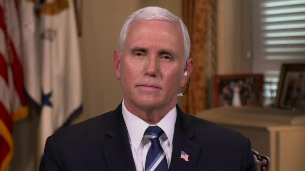 Vice President Mike Pence discusses how coronavirus testing is progressing and improving in availability.