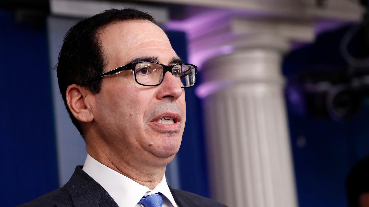 U.S. Secretary of the Treasury Steven Mnuchin says the third coronavirus relief bill is meant to provide loans, checks and liquidity to hard-working Americans and small businesses.
