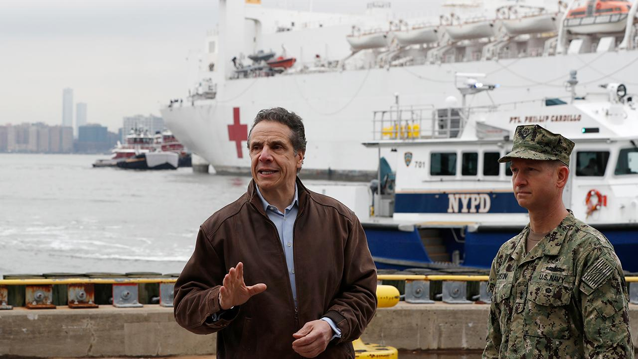 New York Governor Andrew Cuomo discusses the alternative solutions to running out of ventilators during the coronavirus crisis.
