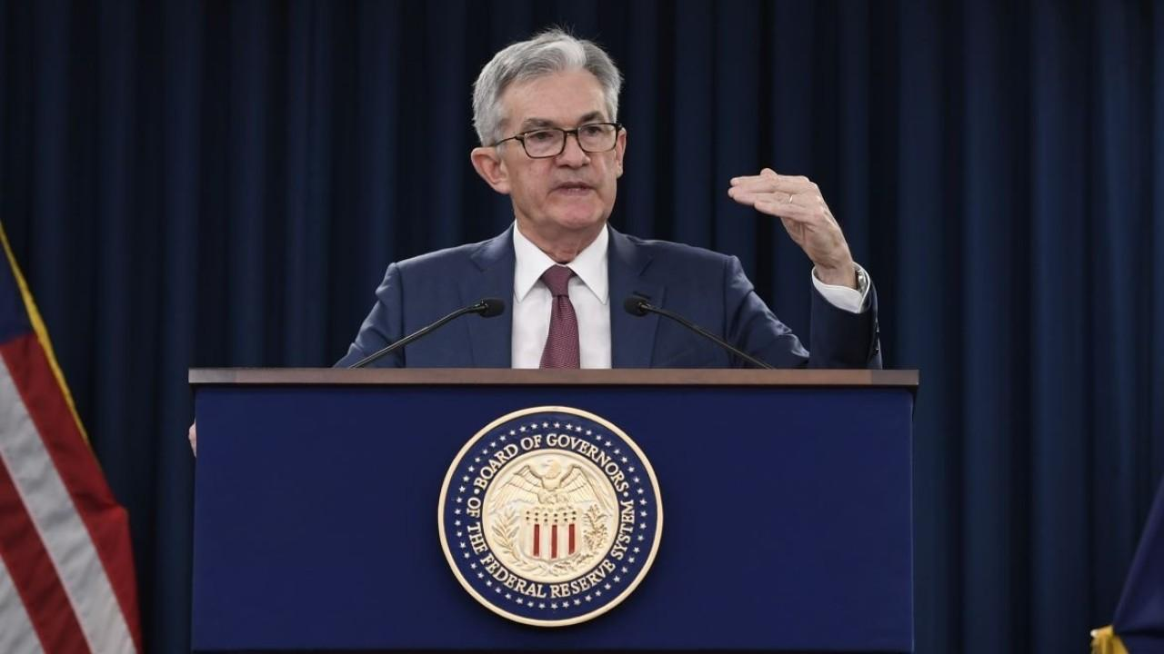 Federal Reserve Chairman Jerome Powell discusses the decision to cut interest rates by 50 basis points amid coronavirus fears.