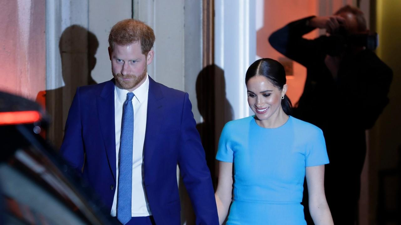 For the first time since their departure from the Royal Family, Prince Harry and Meghan Markle appear together in London to conclude official engagements. FOX Business' Maria Bartiromo with more.
