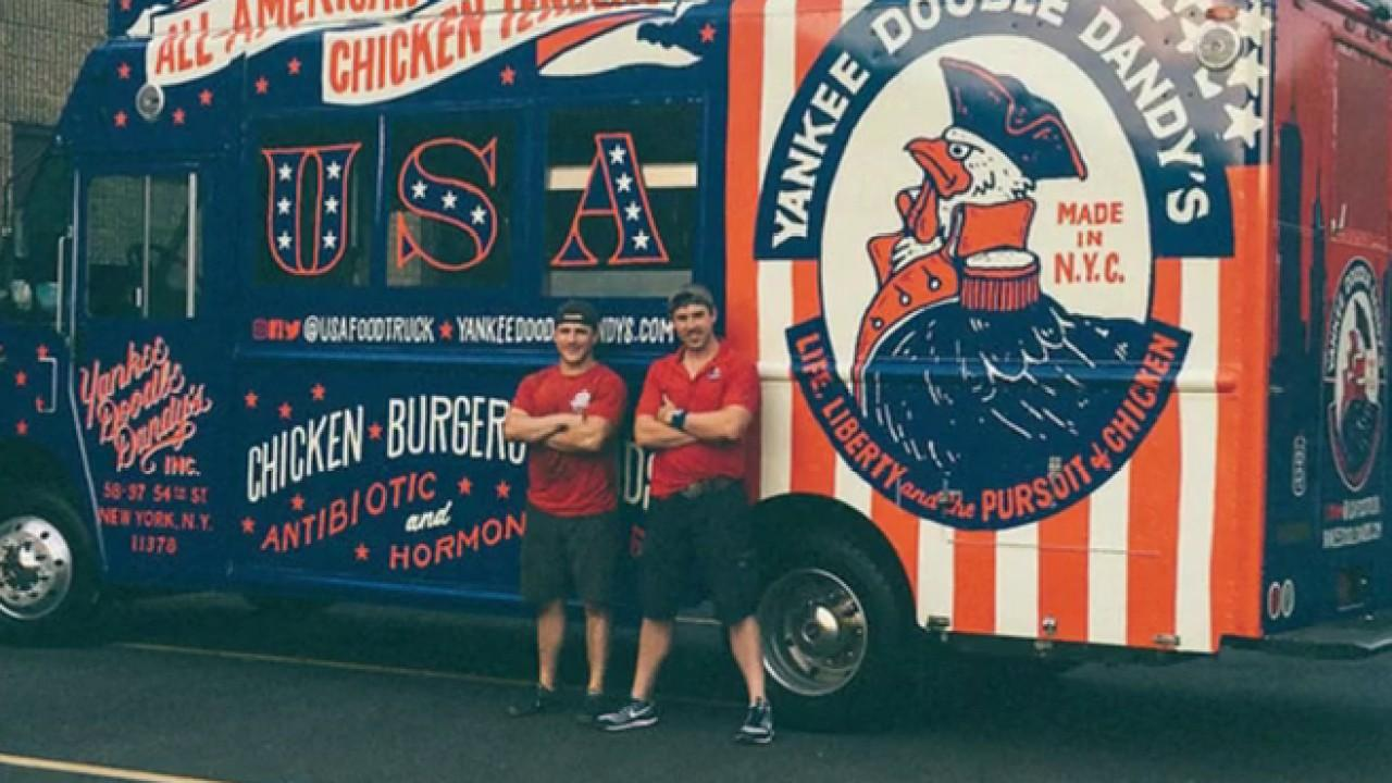 'Yankee Doodle Dandy' food truck founder Josh Gatewood discusses why his two food trucks had to shut down in the midst of the coronavirus outbreak.