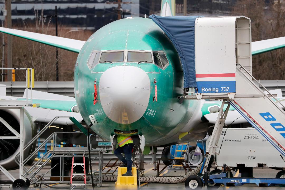 Boeing CEO David Calhoun says it remains on schedule to certify the 737 Max.
