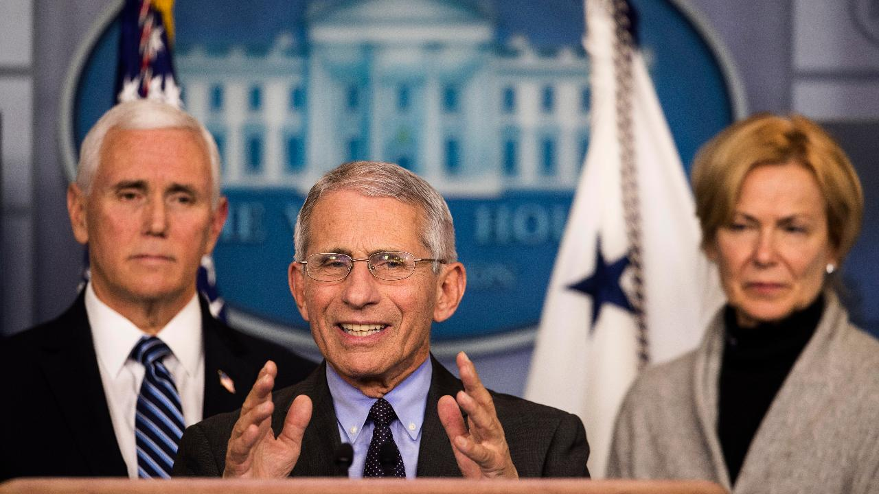 Director of the National Institute of Allergy and Infectious Diseases Dr. Anthony Fauci says the U.S. travel restrictions from China and Europe were a smart decision after reviewing historical evidence.