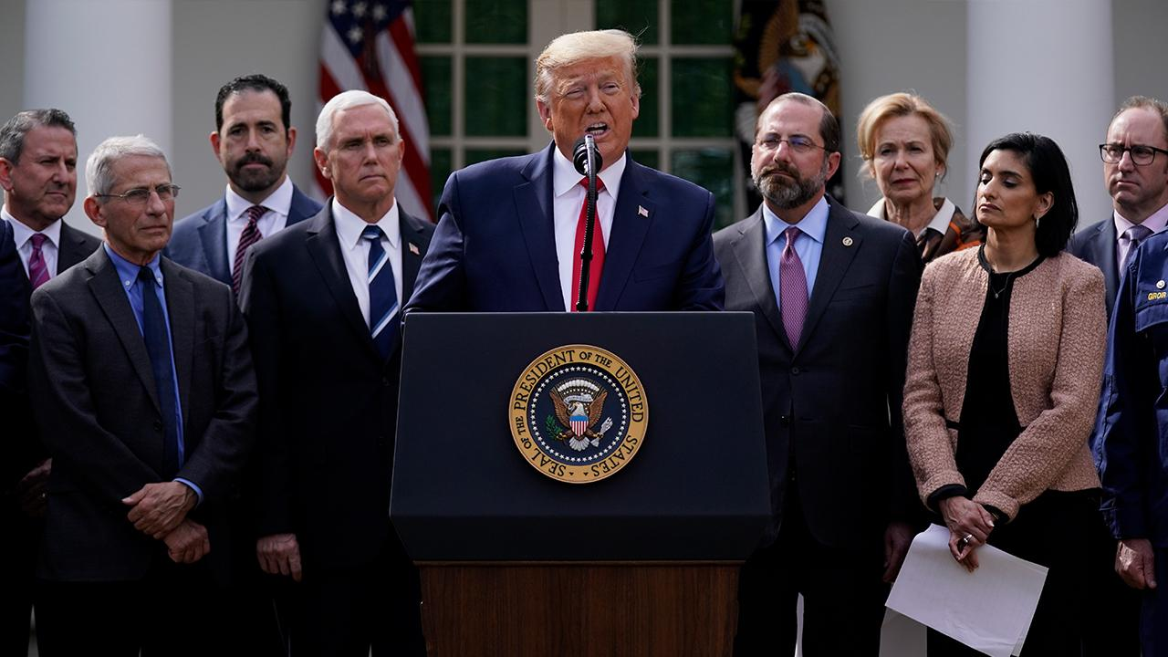 Trump discusses waiving student loan interest held by federal government agencies and the U.S. buying crude oil in the midst of the coronavirus outbreak.