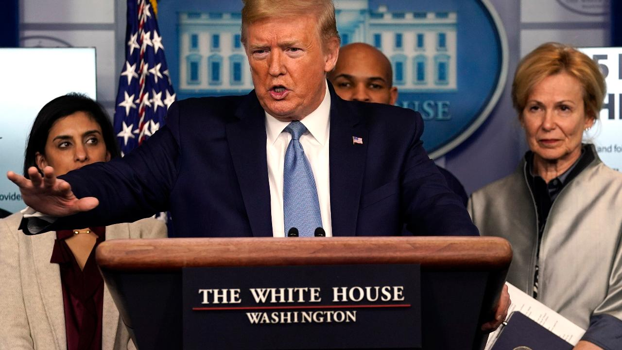President Trump explains whether or not the United States will go into a recession due to coronavirus.
