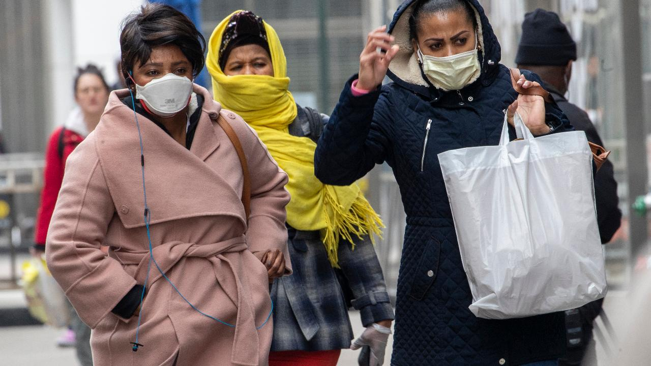 President Trump suggests people use a scarf to protect themselves from coronavirus amid a shortage of face masks.