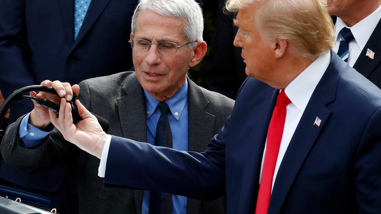 Director of the National Institute of Allergy and Infectious Diseases Dr. Anthony Fauci, Dr. Deborah L. Birx and President Trump give insight into respirator production and when coronavirus cases could decline in the United States.