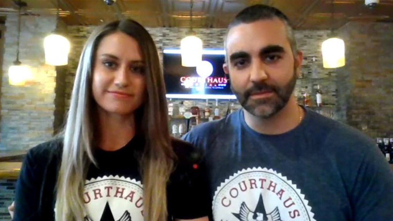 Courthaus Social Beer Garden co-owners Julie and Kaveh Safa discuss how coronavirus has impacted their business.
