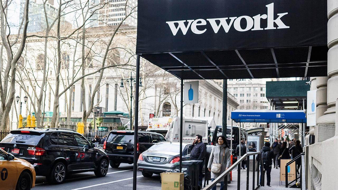 FOX Business' Charlie Gasparino discusses major investors who are saying a virus-related recession could crush WeWork's finances.