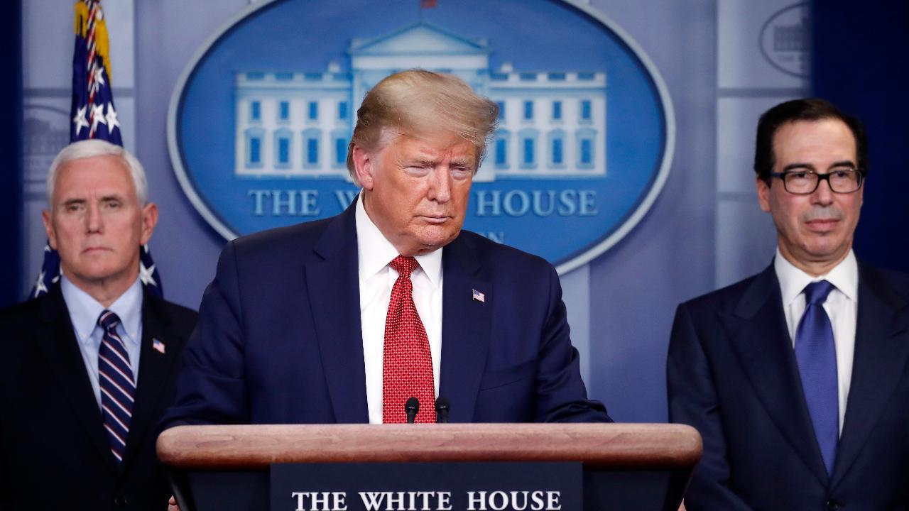 President Trump says he's heard for years the World Health Organization is biased toward China.