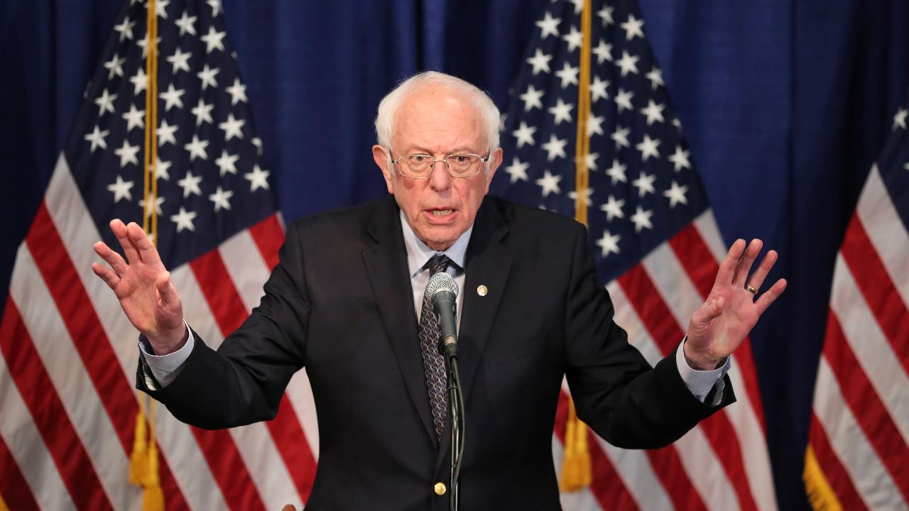 FOX Business' David Asman argues Sen. Bernie Sanders, I-Vt., stunned people in his press conference by not dropping out of the 2020 Democratic presidential election.