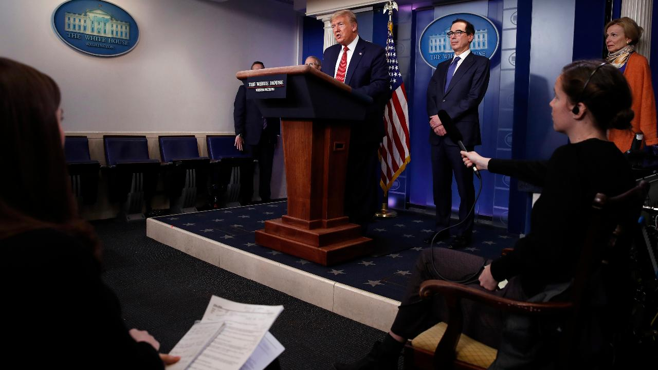 President Trump says his administration should have a better understanding on whether or not to lift the quarantine by Easter.