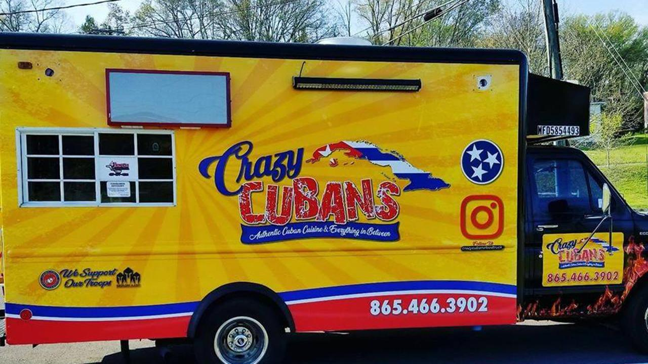 Crazy Cubans food truck owners Eddie Chavez and Lissette Rivas are using extra food and supplies to feed seniors in their Tennessee community.