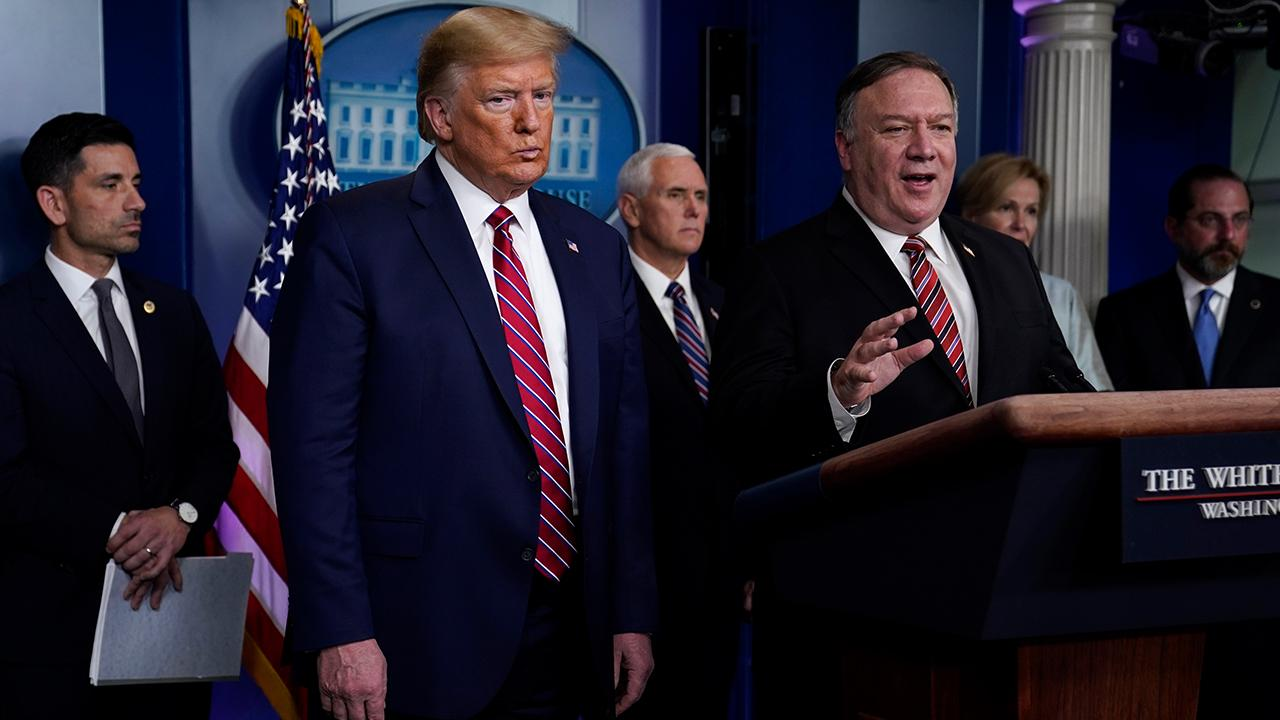 Health and Human Services Secretary Alex Azar and Secretary of State Mike Pompeo discuss how much coronavirus information China had and when that information was shared to other countries.