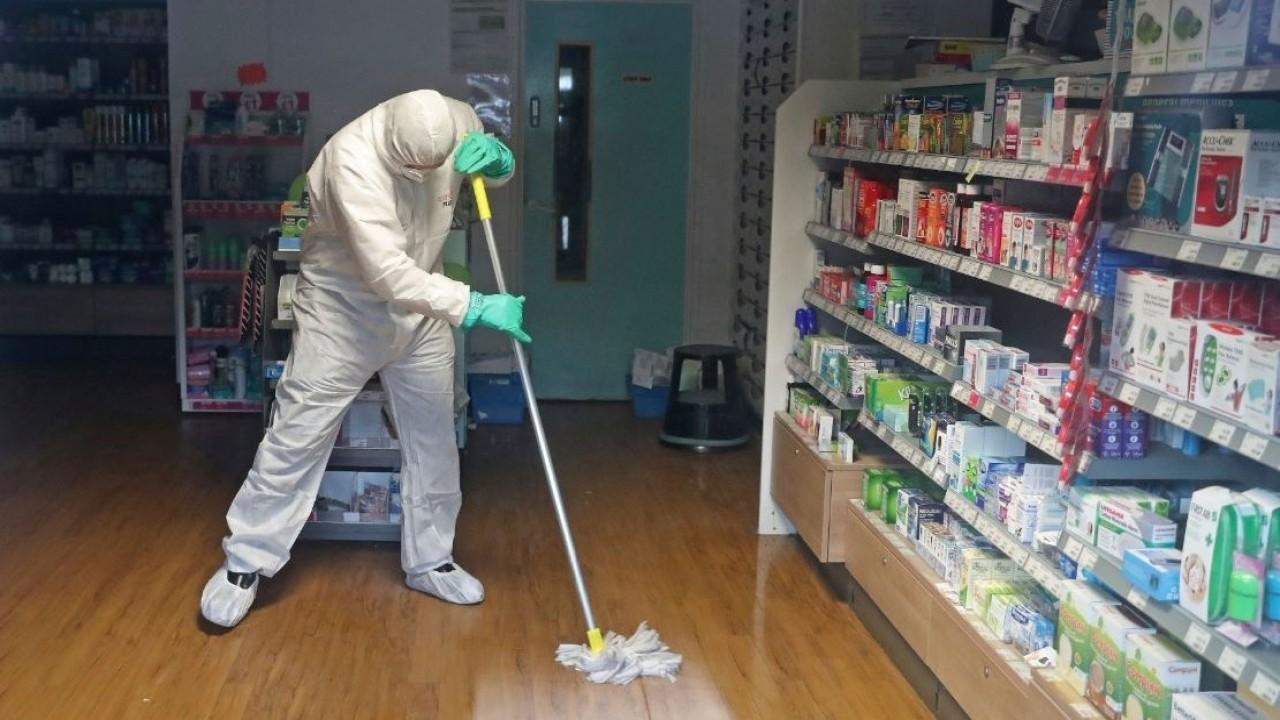 CleanWell CEO Stew Lawrence discusses the company's plant-based line of cleaners as coronavirus concerns continue.