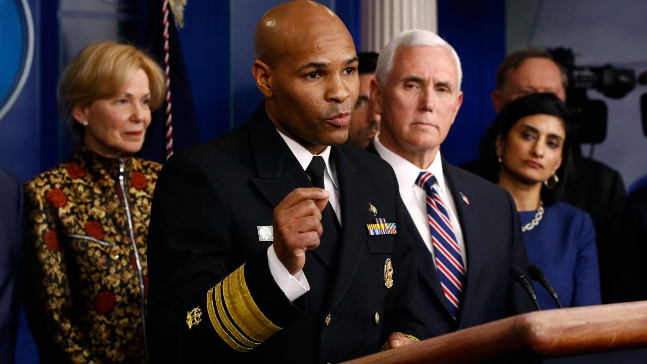 U.S. Surgeon General Jerome Adams encourages Americans to know their circumstances in order to avoid contracting coronavirus.