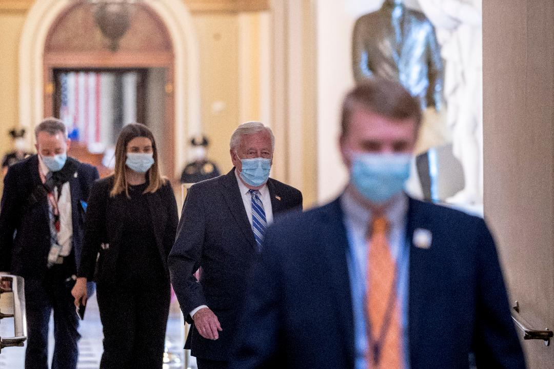 President Trump says the coronavirus relief bill is meant to do what's right for workers and small businesses, and he plans on signing it Thursday night.