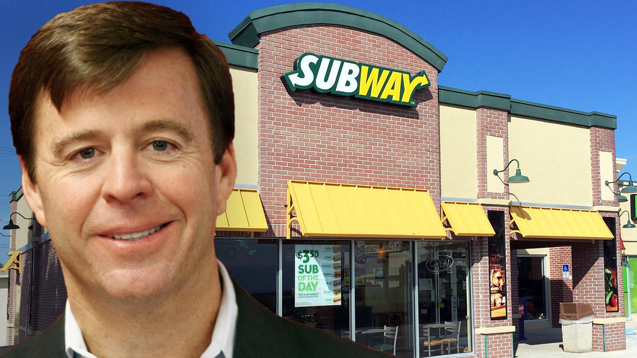 Subway Restaurants CEO John Chidsey says 90% of franchisees have applied for small business loans and its economic model is strong enough to survive the coronavirus.