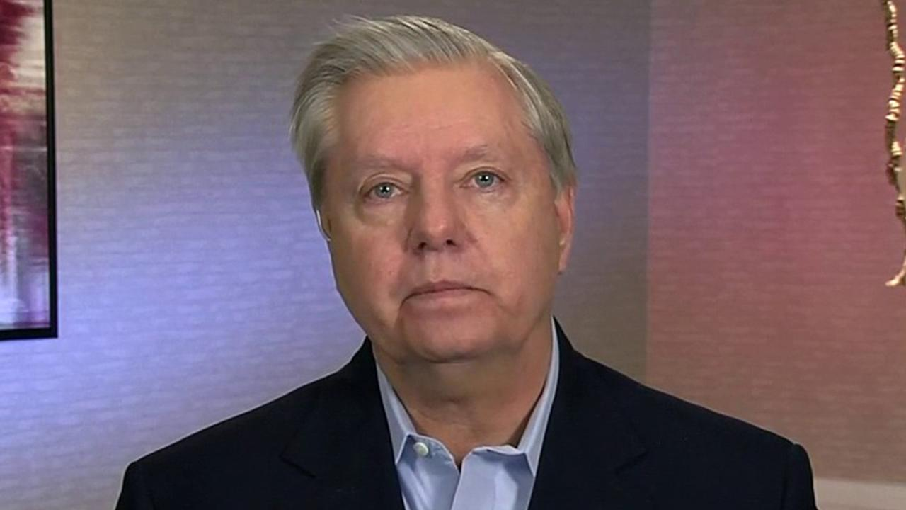 Sen. Lindsey Graham, R-S.C., argues high unemployment pay could make it hard for business owners as employees leave their payroll.