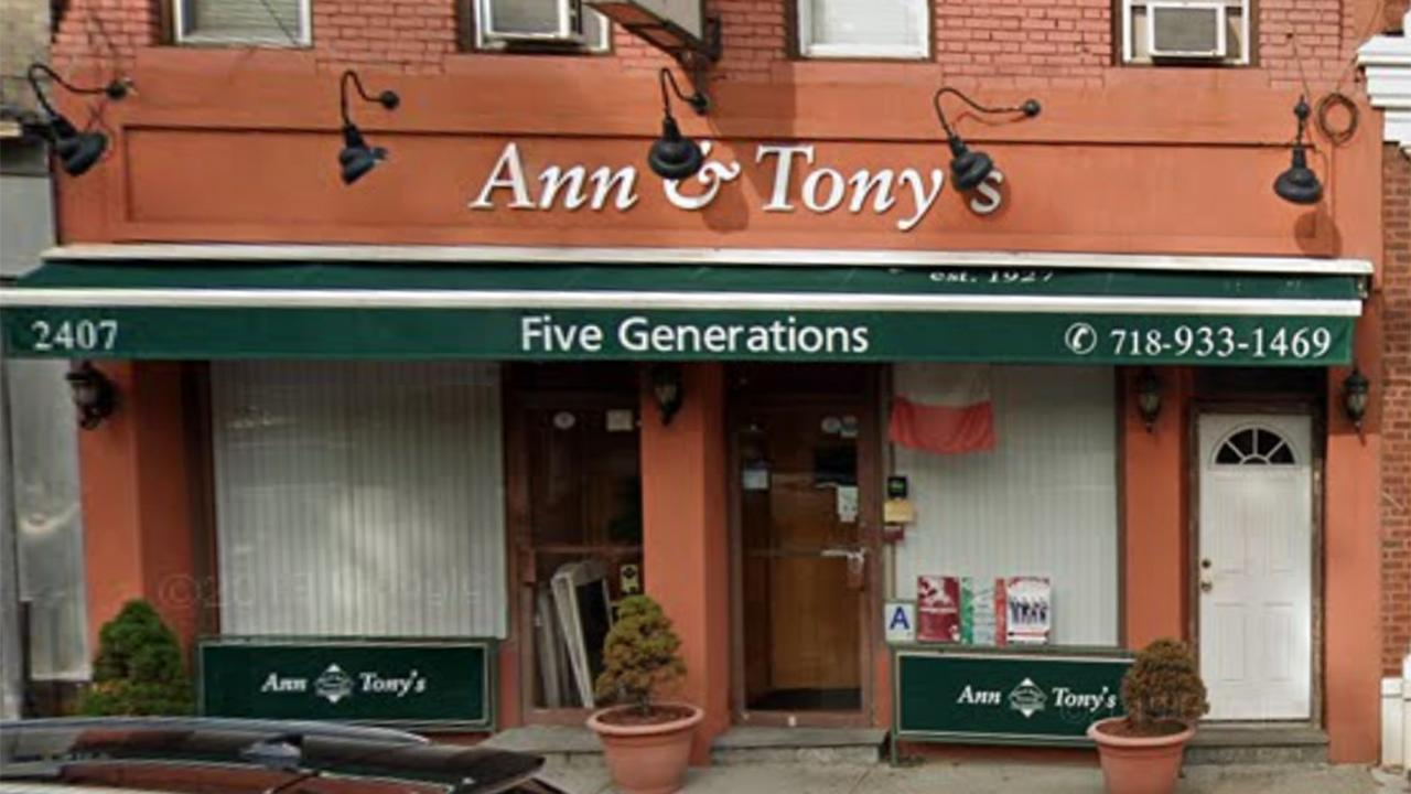 Ann & Tony's owners haven't relied on the government before and are hoping they don't have to during the coronavirus pandemic.