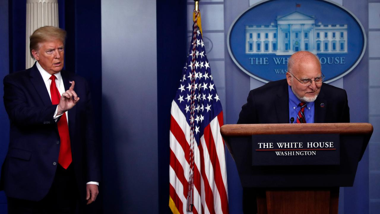 President Trump, Centers for Disease Control director Dr. Robert Redfield and White House coronavirus response coordinator Dr. Deborah Birx discuss the potential for a second wave of coronavirus and recommend everyone get a flu shot for additional protection.