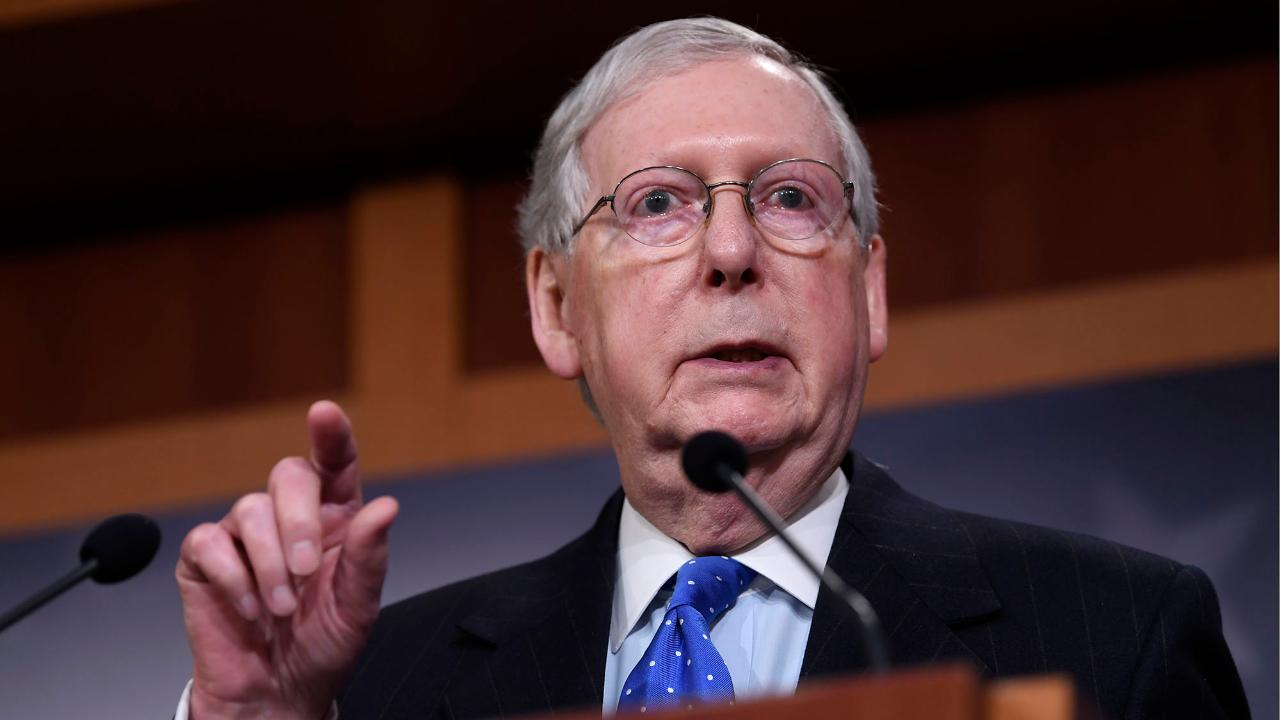 Senate Majority Leader Mitch McConnell says he's not interested in saving states for reasons that have nothing to do with the coronavirus pandemic.