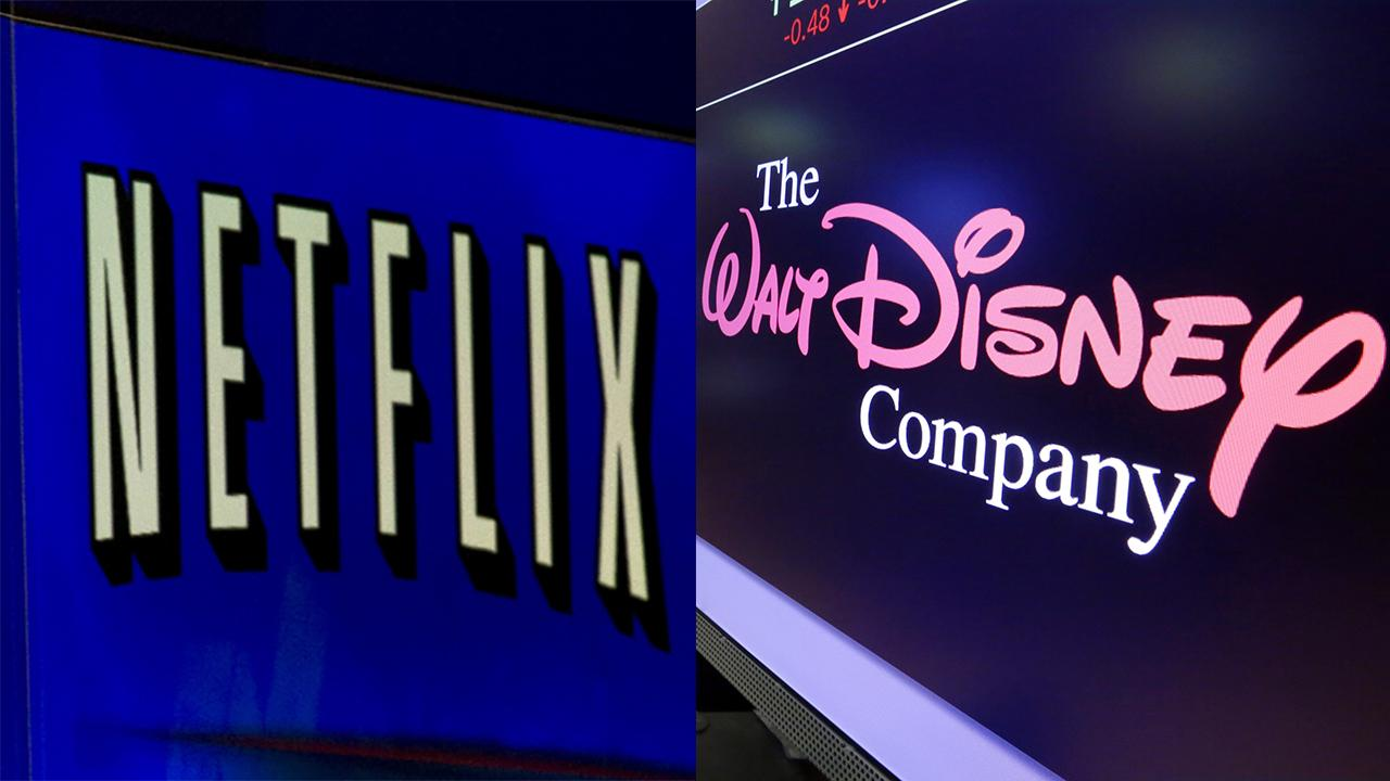Netflix is the king of the streaming wars as its shares hit a new record high. FOX Business' Cheryl Casone with more.