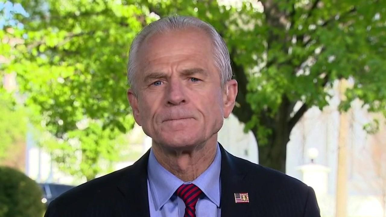 White House trade policy director Peter Navarro says the media, Democrats and global corporations need to put politics aside and support President Trump's decision to examine the World Health Organization for its mishandling of coronavirus, which Navarro says killed tens of thousands of people around the world.