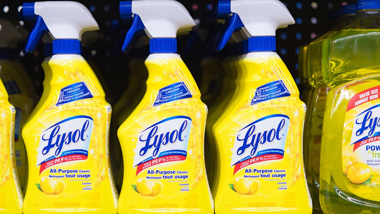 Reckitt Benckiser released an official statement advising consumers to never ingest Lysol disinfectant products after President Trump suggested disinfectants may help to potentially treat the coronavirus.