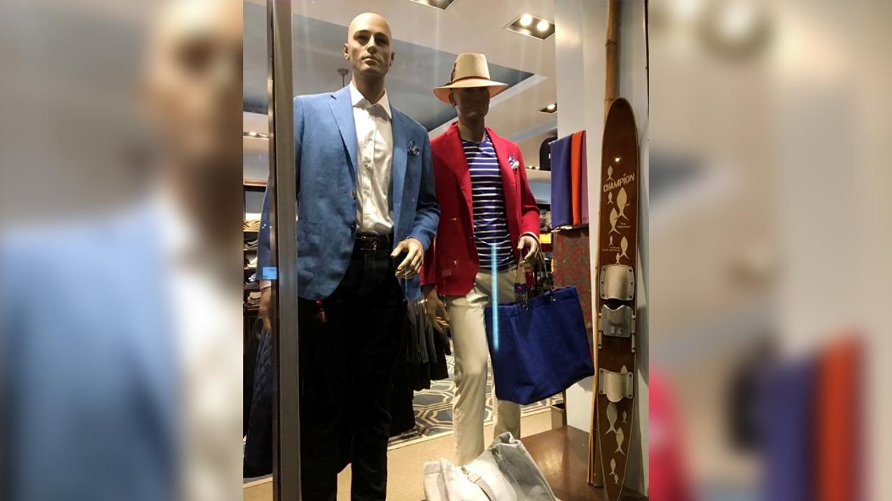 Peter Elliot owner Eliot Rabin says he's decided to open his high-end clothing store amid coronavirus to protect small business and his employees.