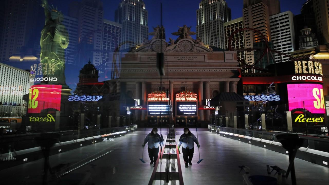 Former Sen. Dean Heller, R-Nev., discusses the obstacles involved in reopening Las Vegas after coronavirus.