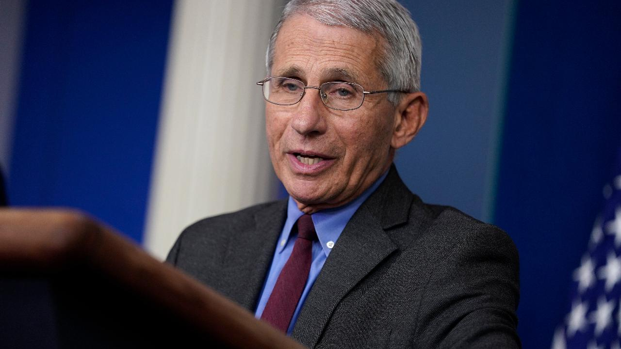 Dr. Anthony Fauci commends the governors of the middle parts of America for their commitment to making sure their states don't end up like the coastal states.