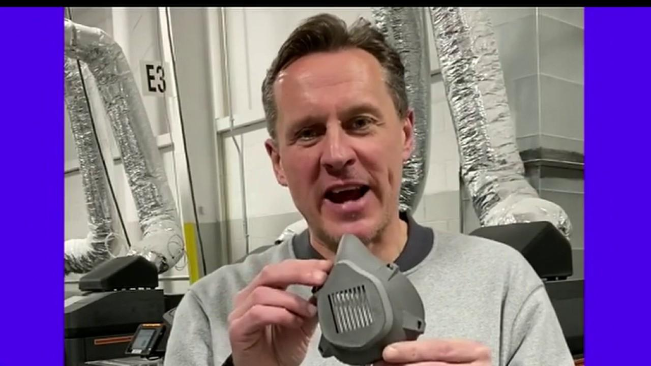 SmileDirect Club chief global supply chain officer Dan Baker discusses the company's effort to make face shields for health care and essential workers.