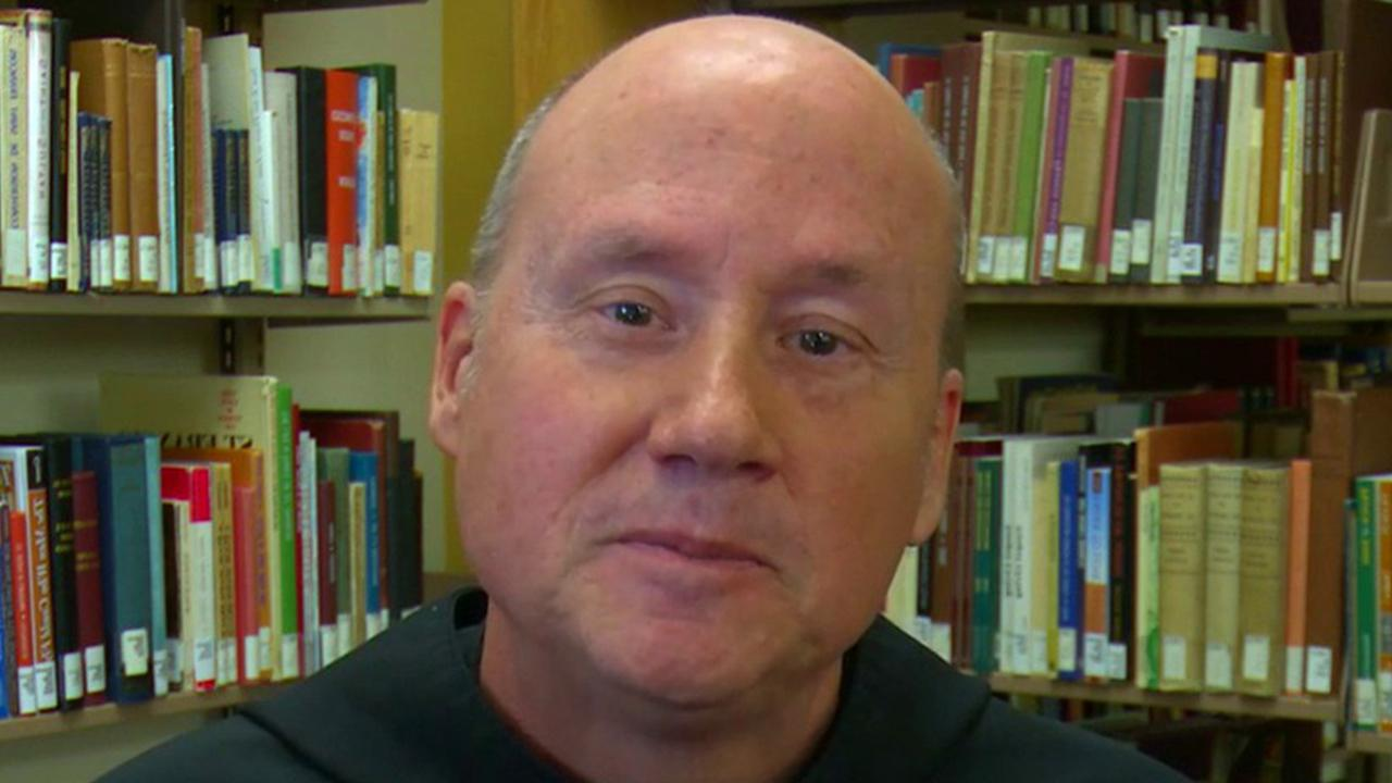 Franciscan University of Steubenville President Father David Pivonka says his university is paying tuition costs for incoming students in the fall because these students are 'a population that's experiencing great anxiety and stress' due to coronavirus.