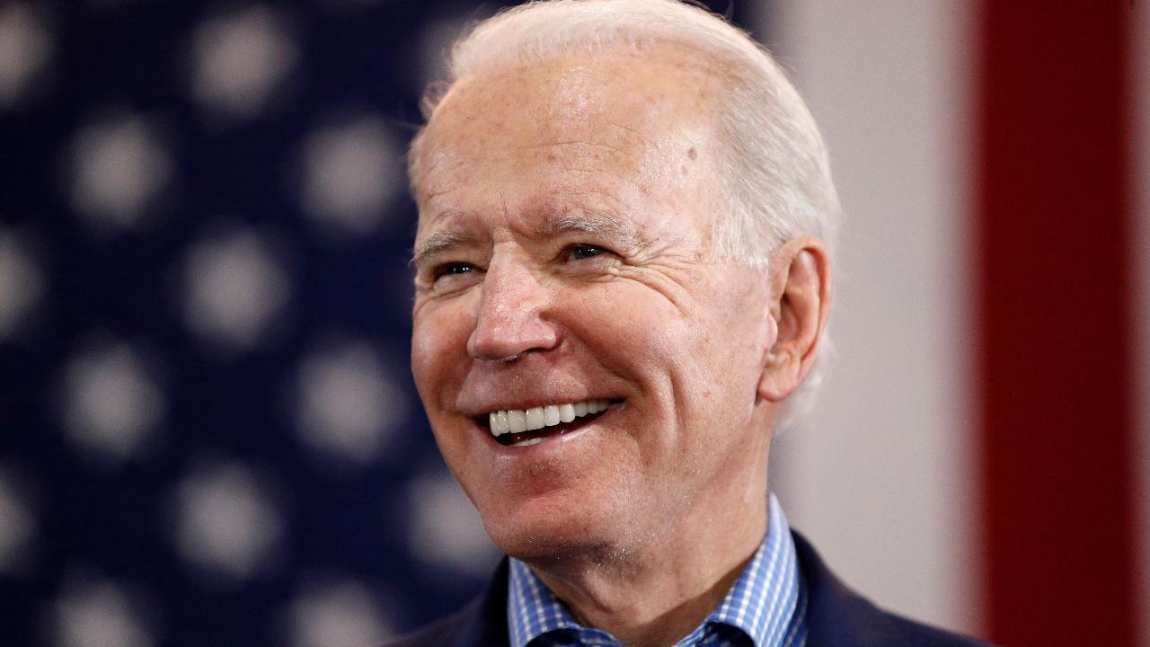 President Trump says the media is not criticizing former Vice President Joe Biden for shielding himself from the public during coronavirus.