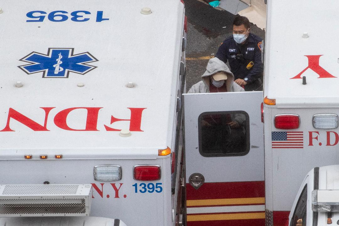 FDNY EMS chief Lillian Bonsignore discusses the current situation for New York City paramedics during the coronavirus pandemic.