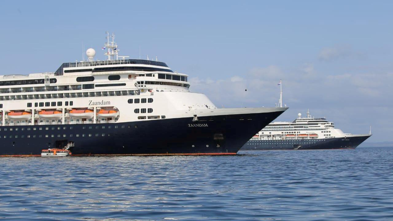 Maximilian Jo, who is the son of passengers aboard a Holland America cruise ship, says he's uncertain about what will happen to his parents, including his father who is currently running a fever.