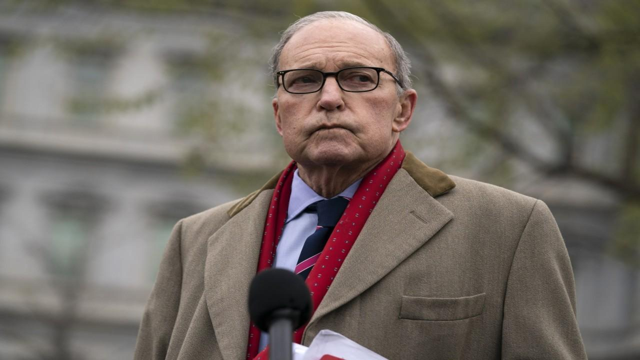 National Economic Council Director Larry Kudlow discusses a possible timeline for recovery from the pandemic shutdown.