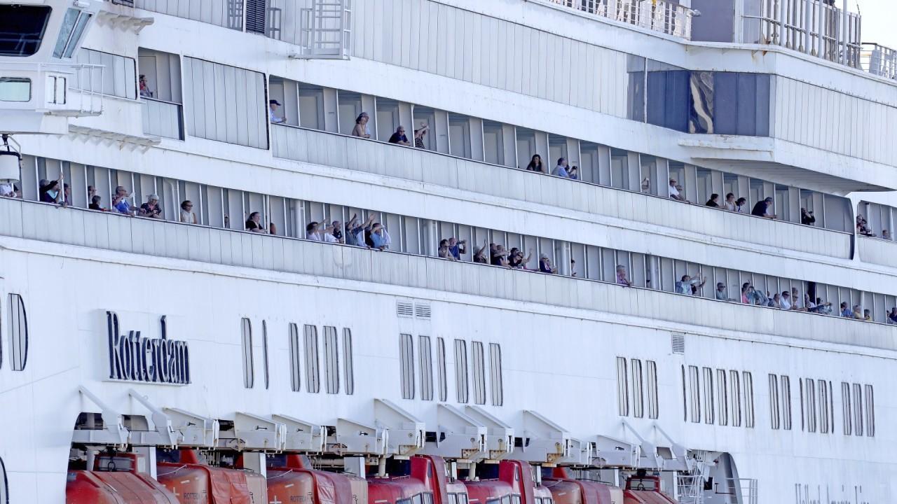 Fort Lauderdale Mayor Dean Trantalis discusses precautionary measures being taken as contaminated cruise ships, Zaandam and Rotterdam, dock.