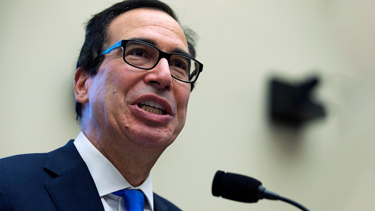 Treasury Secretary Steven Mnuchin argues June and July will see an economic pickup followed by a 'big bounce back' in August and September. He also detailed new measures in the Payroll Protection Program that will ensure loans get into the right hands.