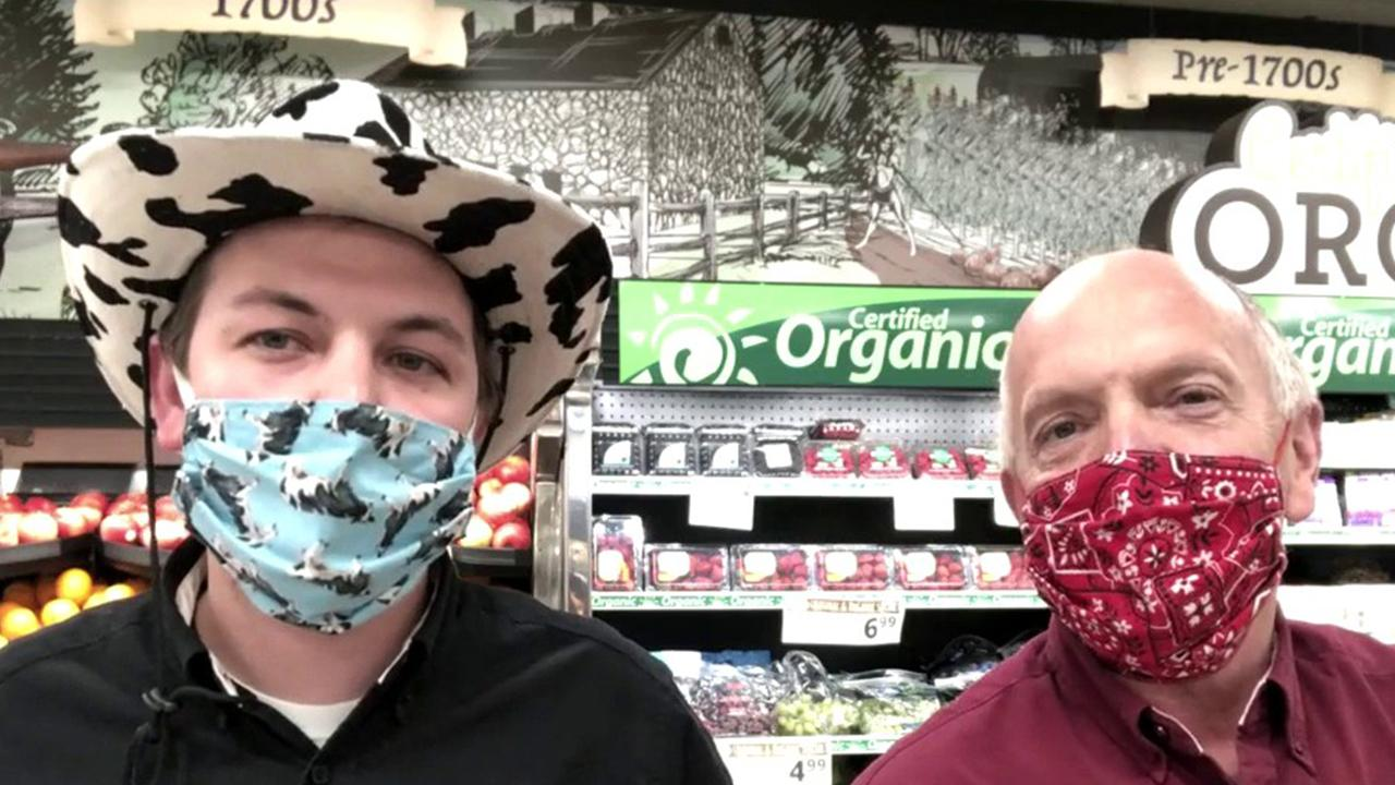 Jon Hurst and Curvin Hurst of Oregon Dairy detail their grocery store's efforts to support their community amid coronavirus and say their restaurant will serve less than half capacity when reopened for safety.