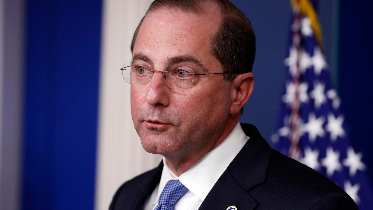 Health and Human Services Secretary Alex Azar discusses how health care providers are handling coronavirus treatment for the uninsured.