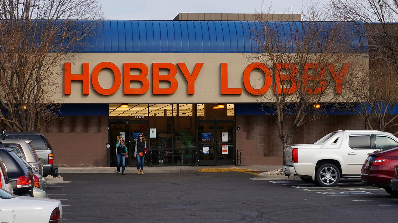 Hobby Lobby has received two cease-and-desist orders after trying to stay open during the coronavirus. FOX Business' Grady Trimble with more.