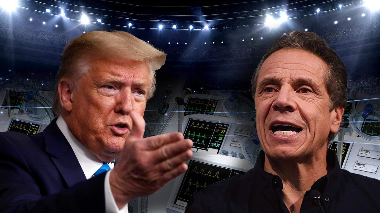 New York Governor Andrew Cuomo responds to President Trump's tweet expressing he should complain less. FOX Business' Blake Burman with more.